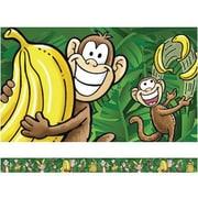Edupress® pre-school - 8th Grades Straight Spotlight Bulletin Board Border, Go Bananas