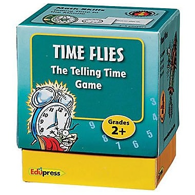 Edupress® Time Flies Last One Standing Telling Time Math Game