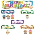 Edupress® Mini Bulletin Board Set, Happy Birthday Cupcakes