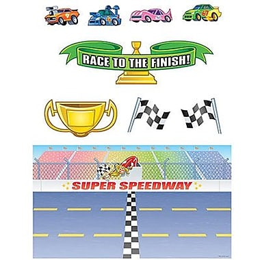Edupress® Mini Bulletin Board Set, Race To The Finish