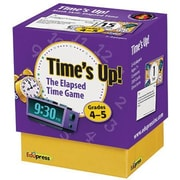 Edupress® Time's Up! Elapsed Time Game, Grades 4th -5th