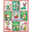 Eureka® Stickers, Peanuts Christmas Flatpack