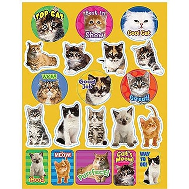 Eureka® Stickers, Cats Motivational
