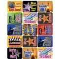 Eureka® Stickers, Movie Motivational Success