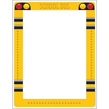 Eureka® 8 1/2in. x 11in. School Bus Computer Paper