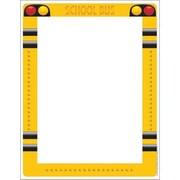 "Eureka School Bus Computer Paper 11"" x 8.5"", Yellow/White (EU-812124)"