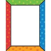 Eureka® 8 1/2 x 11 Polka Dots Computer Paper