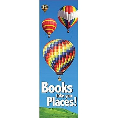 Eureka® Books Take You Places Bookmark, Grades preschool - 6th
