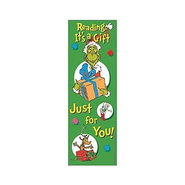 Eureka® Dr. Seuss The Grinch Bookmark, Grades Pre School - 6th