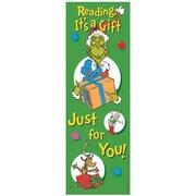 Eureka® Dr. Seuss The Grinch Bookmark, Grades preschool - 6th