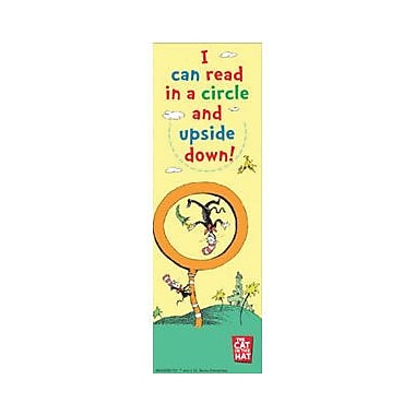 Eureka® Dr. Seuss Read With My Eyes Shut Bookmark, Grades preschool - 6th