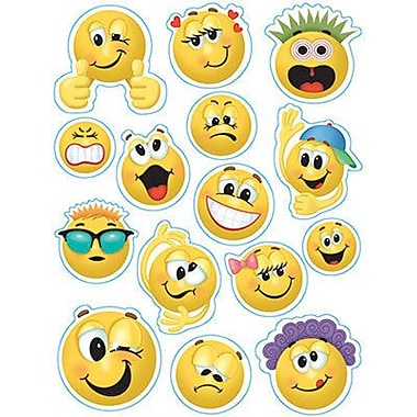 Eureka® Window Cling, Emoticons