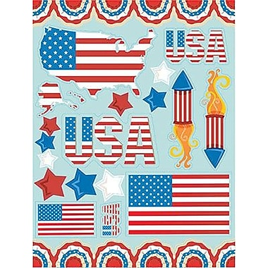 Eureka® Window Cling, US Flag
