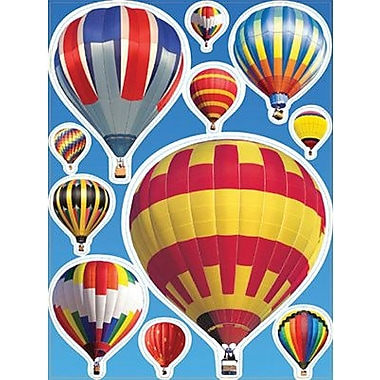 Eureka® Window Cling, Hot Air Balloons