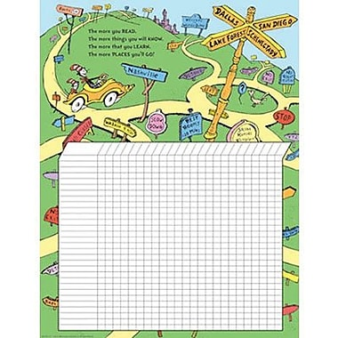 Eureka® Dr. Seuss Reading Chart