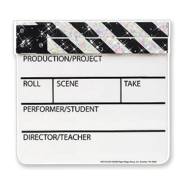 Eureka® Pre School - 12th Grades Paper Cut-Outs, Hollywood Clapboard Sparkle