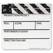 Eureka® Pre School - 12th Grades Paper Cut-Outs, Hollywood Clapboard Sparkle