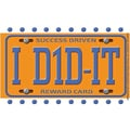 Eureka® License Plate Reward Punch Card