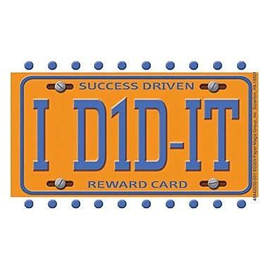 Eureka® License Plate Reward Punch Card