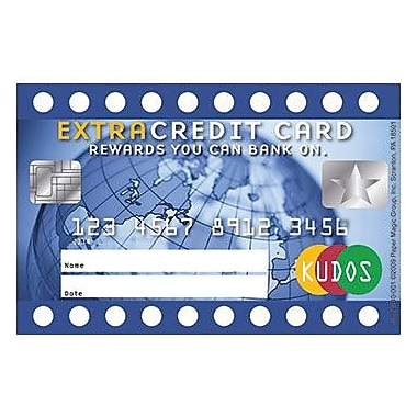 Eureka® Extra Credit Card Reward Punch Card