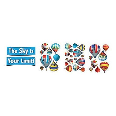 Eureka® Bulletin Board Set, Decorative Hot Air Balloons