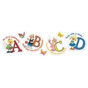 Eureka® Bulletin Board Set, Suzy Zoo Character Letters