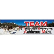 Eureka® 4th - 12th Grades Jumbo Banner, Team