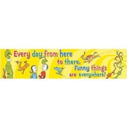 Eureka® Dr. Seuss™ Toddler - 6th Grades Jumbo Banner, One Fish Two Fish