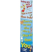 Eureka® Dr. Seuss™ Pre School - 6th Grades Jambo Banner, Today You Are You