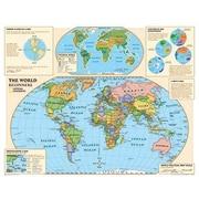 National Geographic Maps Beginners World Map, Grades Kindergarten - 3rd