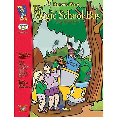 On The Mark Press® Reading With Magic School Bus Book, Grades 1st - 3rd