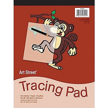 Pacon® Art Street® Translucent Tracing Paper Pad, 12in. x 9in.