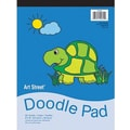Pacon® Art Street® White Doodle Pad, 12in. x 9in.