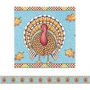 "Teacher Created Resources TCR4751 35"" x 3"" Straight We Are Thankful Border Trim, Multicolor"