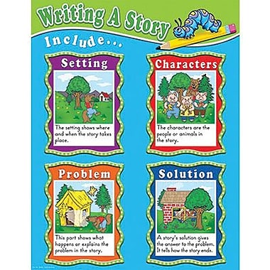 Teacher Created Resources® Writing A Story Chart
