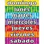 Teacher Created Resources® Days of The Week Spanish