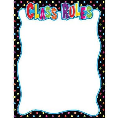 Teacher Created Resources® Class Rules Chart