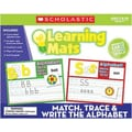 Teacher's Friend® Match, Trace and Write the Alphabet Learning Mat, Grades Pre K - 3rd