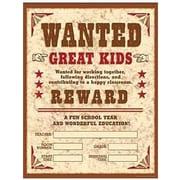 Teacher's Friend® Wild West Wanted Chart