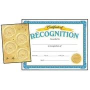 """Trend Enterprises® Recognition Certificates and Award Seals Combo Pack, 8 1/2""""(L) x 11""""(W)"""