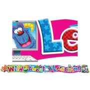 Trend Enterprises® Pre-kindergarten - 6th Grades Banner, Furry Friends Wild About Learning
