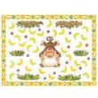 Edupress® Bulletin Board Set, Monkeys
