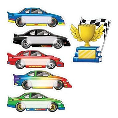 Edupress® Toddler - 6th Grades Bulletin Board Accents, Race Cars