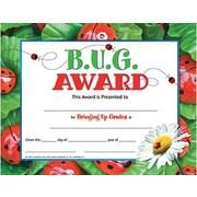 """Hayes® B.U.G. Award Certificate, 8.5""""(L) x 11""""(W)"""
