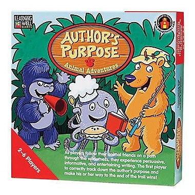 Edupress® Author's Purpose Animal Adventures Game, Red Level, Grades 2nd - 4th