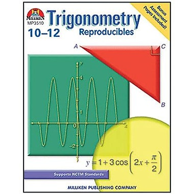 Milliken & Lorenz Educational Press® Trigonometry Workbook, Grades 10th - 12th