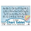Pacon® Colored Paper Chart Tablet Paper, 1in. Rule, 24in. x 16in.