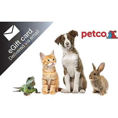 Petco Gift Card, $50 (Email Delivery)