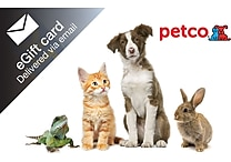 Petco Gift Card, $25 (Email Delivery)