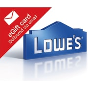 Lowes Gift Card, $300 (Email Delivery)